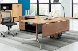 胶板办公桌28-01款 绿色环保实木颗粒板