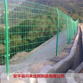 围墙护栏网 镀锌护栏网 安装铁丝网