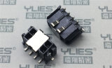 PCB连接器 双排插针 立贴MX3.0连接器
