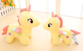 源頭廠家定製獨角獸公仔毛絨玩具小飛馬玩具