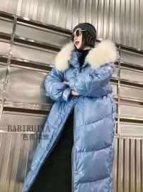 歐版芭芘瑞雅羽絨服品牌折扣店連鎖專櫃正品直播女裝