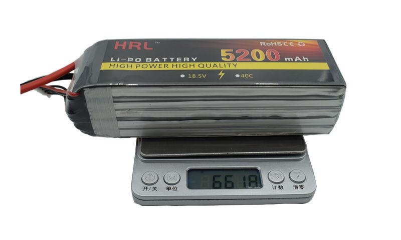 飞机航模倍率锂电池5S 18.5V 5200mAh