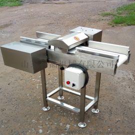 不锈钢输送带式鱿鱼切花机现货猪皮切丝机诸城
