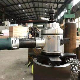 广东內涨式管道坡口机便携手提式管子倒角机