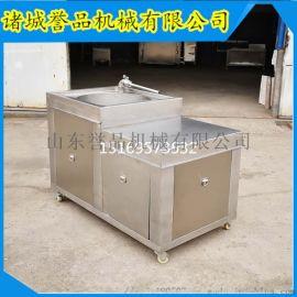不锈钢灌香肠机器大型商用双管液压灌肠机参数