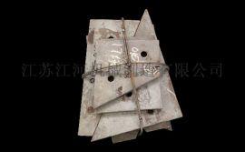 江苏 料斗衬板 耐磨钢衬板江河耐磨材料