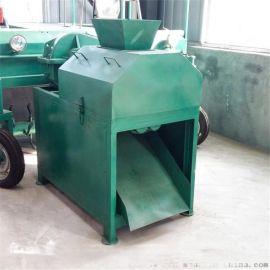 复合肥生产线对辊造粒机 多功能猪羊粪造粒机 无需烘干干粉挤压造粒机