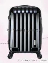 新款箱包皮具 拉杆箱PC ABS材质 登机 20寸 拉链 万向轮 礼品行李箱
