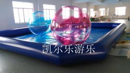2015特价水上步行球水球环保材料德国进口拉链