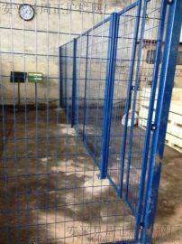 车间防护网隔离栅 仓库防护网周正护栏