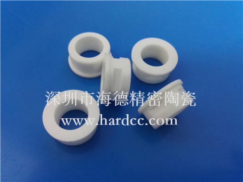 机械加工陶瓷导向套 氧化铝陶瓷结构件