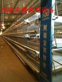 河南省宏盛专业定做各种鸡笼全自动养鸡设备