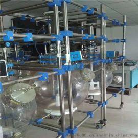 回收水浴锅加热二手双层玻璃反应釜 二手玻璃反应釜