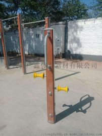 广鑫体育直销  塑木腿部  器等各种塑木健身路径