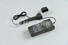 滨州皮棉水分测定仪     压缩棉包回潮率检测仪MS7100C