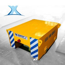 蓄电池电动遥控轨道车金属丝电动轨道平车小型轨道平板车