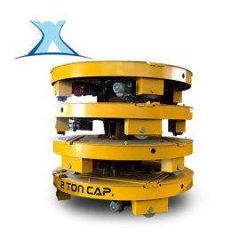 厂商轨道转盘运输托盘防水电动转盘转运车50T大直径转盘