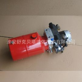 DC24V2.2KW-1.6-6L红色油箱-1组电磁阀