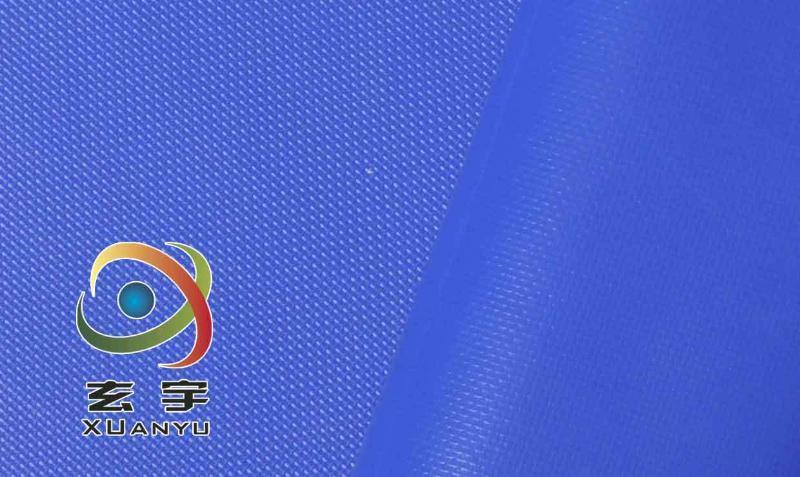 生产500D18*17PVC夹网布箱包专用夹网布