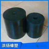 圆柱型橡胶弹簧 耐磨耐腐蚀橡胶减震器 橡胶减震胶墩 可定做