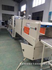 饮料生产线配套的热收缩包装机 每分钟速度20包左右  厂家直销