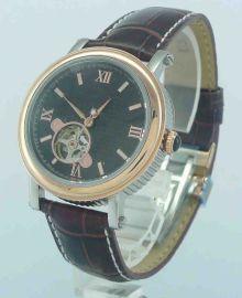 新款男士手錶精鋼皮帶石英錶男錶超薄全自動機械錶