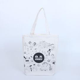 白色帆布袋定制logo棉布袋购物袋礼品袋环保袋
