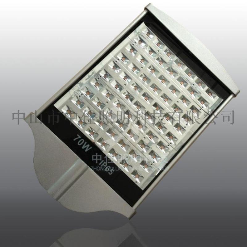 中山LED84W路燈頭廠家  型材平板路燈