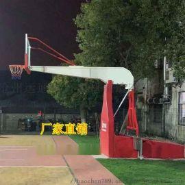 定制各种篮球架 升降移动地埋篮球架厂家