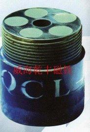 强磁打捞磁铁油田油井打捞钻头钻杆  磁铁磁钢吸盘