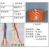双绞屏蔽线 RVSP2*1.0 通讯线 屏蔽信号控制电缆国标