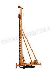 徐州圆管式长螺旋钻机,CFG长螺旋桩机,混凝土灌注桩机