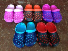 揭阳厂家供应2015新款儿童花园鞋