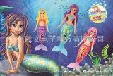 模擬美人魚電子美人魚游水美人魚玩具美人魚禮品美人魚