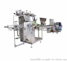 纸巾压花印刷,组合筷子勺子牙签套装餐具自动包装机