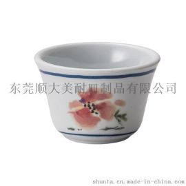 shunta美耐皿密胺仿瓷餐具反扣茶杯 GM613