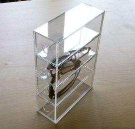 透明亚克力资料盒 行李盒 展示盒 有机玻璃展示盒 资料展示