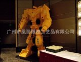 景观雕塑泡沫材质 卡通雕塑 四轴数控雕刻机定做大型机器人模型