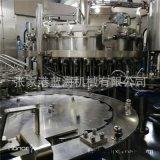 藍海定製碳酸飲料灌裝機全自動三合一果汁汽水罐裝設備廠家