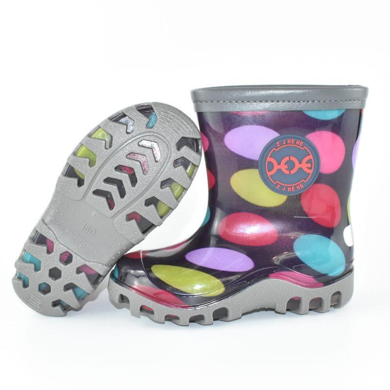 儿童雨鞋****防滑水鞋**雨靴水靴小童时尚幼儿小孩防水胶鞋