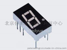 0.4英寸一位led数码管共阴共阳黄绿光