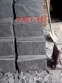 蘑菇石 黑色蘑菇石 江西黑色蘑菇石厂家价格 丰康石材厂