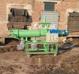 云南玉溪若成厂家直销鸡粪处理机粪便固液分离机鸡粪脱水机