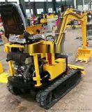 挖掘机厂家 0.8全液压挖掘机 800多功能挖掘机 小型0.8吨挖掘机