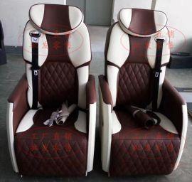 奔驰唯雅诺新威霆V260凌特商务车内饰改装加装电动沙发床航空座椅