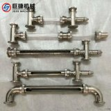 衛生級液位計、不鏽鋼彎頭式璃管液位計、不鏽鋼液位計