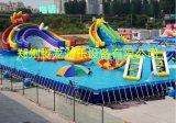 供应大型儿童水上乐园、充气水滑梯、水上闯关设备