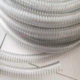 PU透明鋼絲軟管食品級輸送軟管