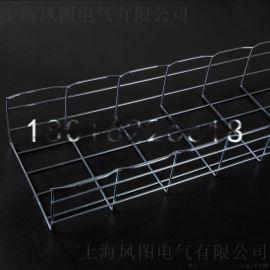 凤图布线 电镀锌网格桥架机房电缆布线200*100mm