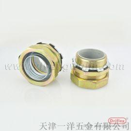 铁镀锌金属软管接头配套PVC包塑防水金属软管